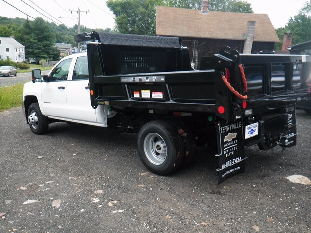 2016 Silverado 3500 Crew Cab DRW 4x4, Reading Marauder Standard Duty Dump Dump Body #26662 - photo 2