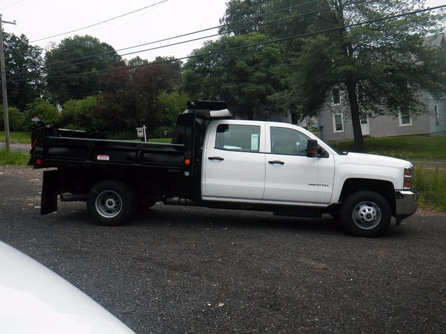 2016 Silverado 3500 Crew Cab DRW 4x4, Reading Marauder Standard Duty Dump Dump Body #26662 - photo 15