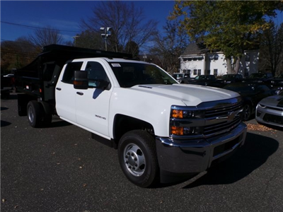 2016 Silverado 3500 Crew Cab DRW 4x4, Reading Marauder Standard Duty Dump Dump Body #26662 - photo 6