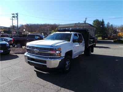 2016 Silverado 3500 Crew Cab DRW 4x4, Reading Marauder Standard Duty Dump Dump Body #26662 - photo 1