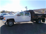 2016 Silverado 3500 Crew Cab DRW 4x4, Reading Marauder Standard Duty Dump Dump Body #26662 - photo 8