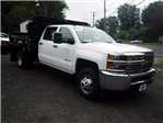 2016 Silverado 3500 Crew Cab DRW 4x4, Reading Marauder Standard Duty Dump Dump Body #26662 - photo 9