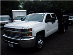 2016 Silverado 3500 Crew Cab DRW 4x4, Reading Marauder Standard Duty Dump Dump Body #26662 - photo 4