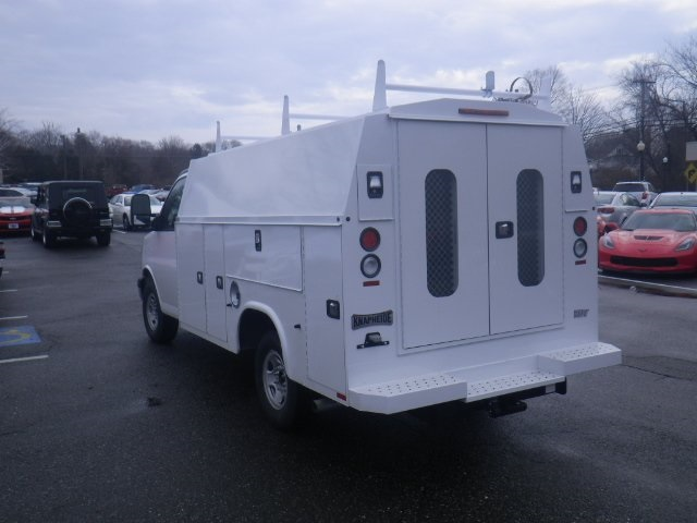 2017 Express 3500, Knapheide Service Utility Van #26909 - photo 2