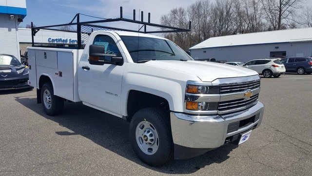 2017 Silverado 2500 Regular Cab 4x4, Reading Service Body #27052 - photo 3