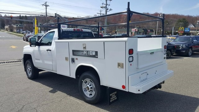 2017 Silverado 2500 Regular Cab 4x4, Reading Service Body #27052 - photo 2