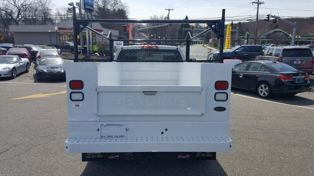 2017 Silverado 2500 Regular Cab 4x4, Reading Service Body #27052 - photo 6