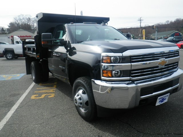 2017 Silverado 3500 Regular Cab DRW 4x4, Rugby Dump Body #27135 - photo 3