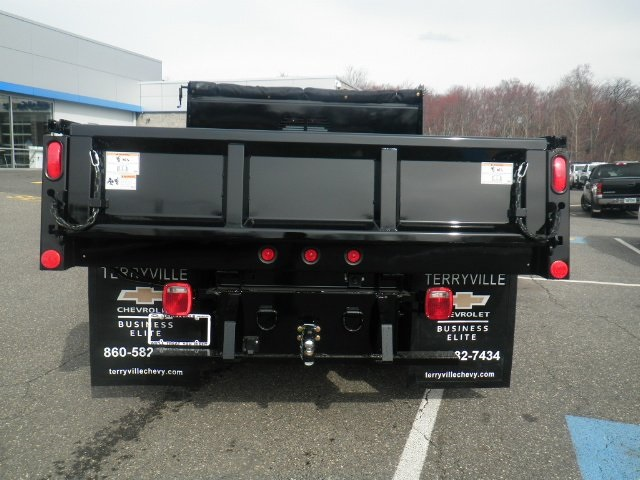 2017 Silverado 3500 Regular Cab DRW 4x4, Rugby Dump Body #27135 - photo 2