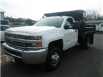 2017 Silverado 3500 Regular Cab DRW 4x4, Rugby Dump Body #27136 - photo 1