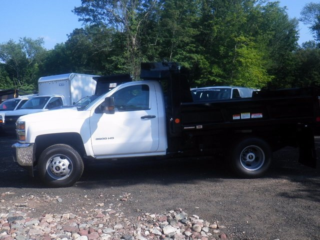 2017 Silverado 3500 Regular Cab DRW 4x4, Reading Dump Body #27202 - photo 5