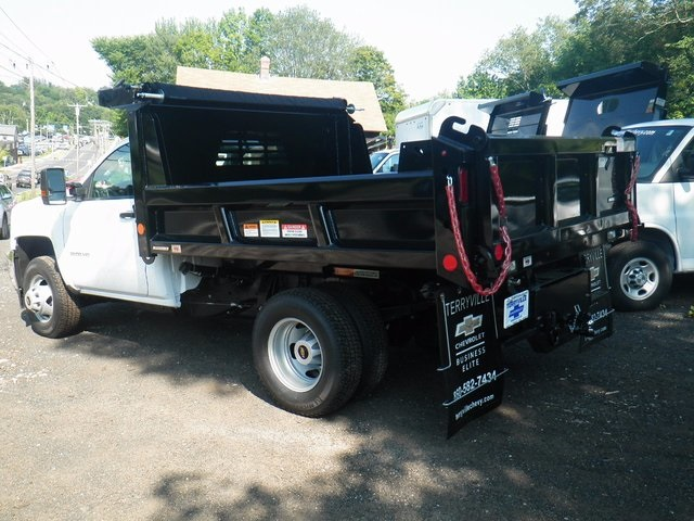 2017 Silverado 3500 Regular Cab DRW 4x4, Reading Dump Body #27202 - photo 2