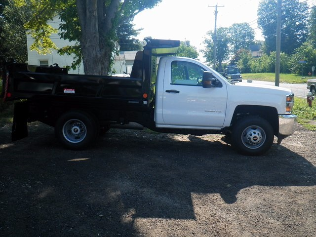 2017 Silverado 3500 Regular Cab DRW 4x4, Reading Dump Body #27202 - photo 8