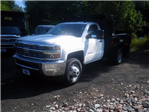 2017 Silverado 3500 Regular Cab DRW 4x4, Reading Dump Body #27202 - photo 1