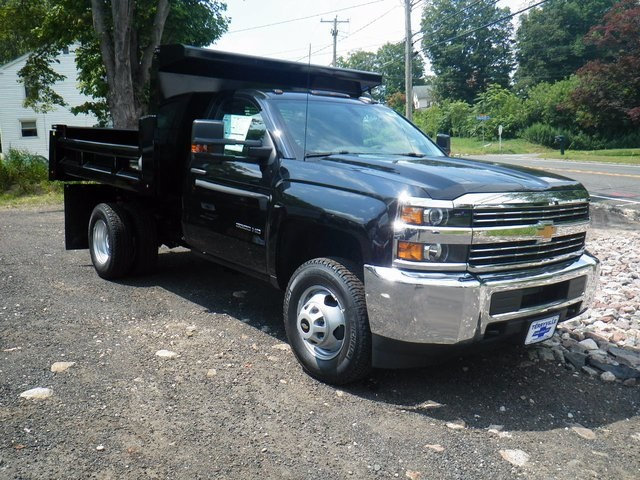 2017 Silverado 3500 Regular Cab DRW 4x4, Rugby Dump Body #27333 - photo 2