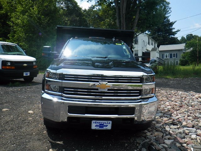 2017 Silverado 3500 Regular Cab DRW 4x4, Rugby Dump Body #27333 - photo 4