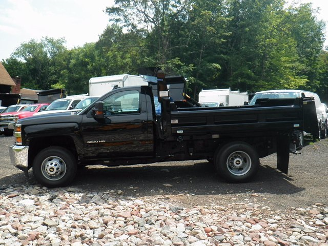 2017 Silverado 3500 Regular Cab DRW 4x4, Rugby Dump Body #27333 - photo 5
