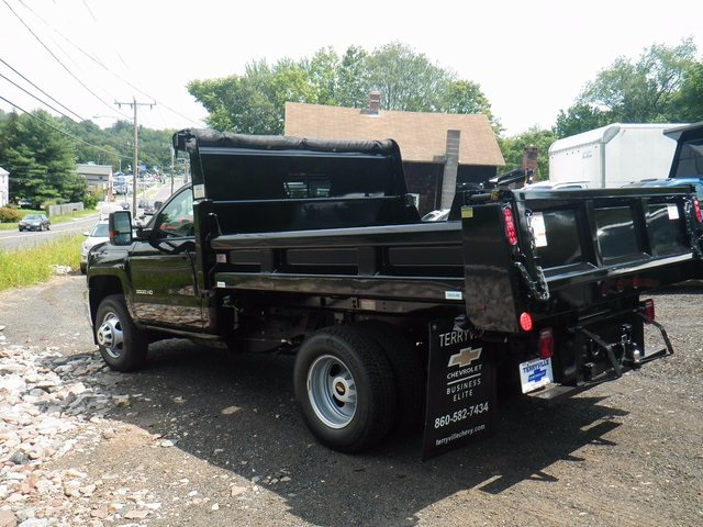 2017 Silverado 3500 Regular Cab DRW 4x4, Rugby Dump Body #27333 - photo 3