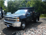 2017 Silverado 3500 Regular Cab DRW 4x4, Rugby Dump Body #27333 - photo 1