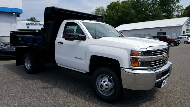2017 Silverado 3500 Regular Cab DRW 4x4, Rugby Dump Body #27337 - photo 3
