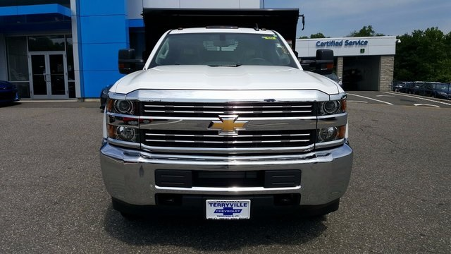 2017 Silverado 3500 Regular Cab DRW 4x4, Rugby Dump Body #27337 - photo 4