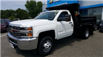 2017 Silverado 3500 Regular Cab DRW 4x4, Rugby Dump Body #27337 - photo 1