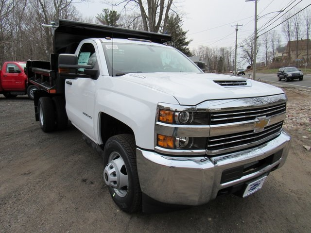 2018 Silverado 3500 Regular Cab DRW 4x4,  Air-Flo Dump Body #27566 - photo 3