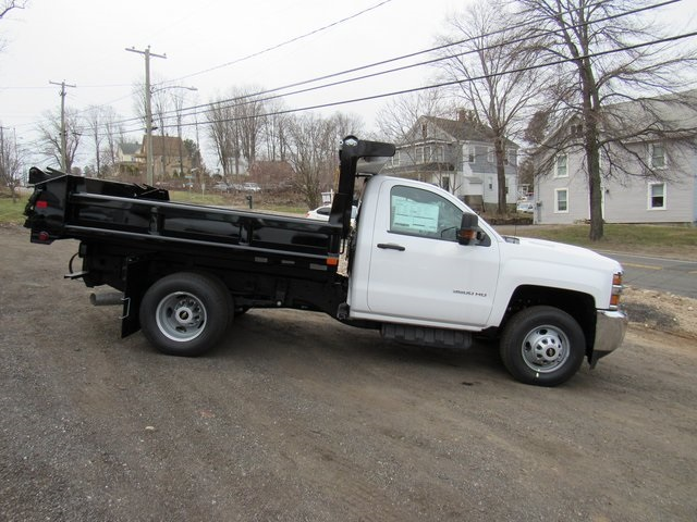2018 Silverado 3500 Regular Cab DRW 4x4,  Air-Flo Dump Body #27566 - photo 8