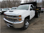 2018 Silverado 3500 Regular Cab DRW 4x4,  Air-Flo Dump Body #27566 - photo 1