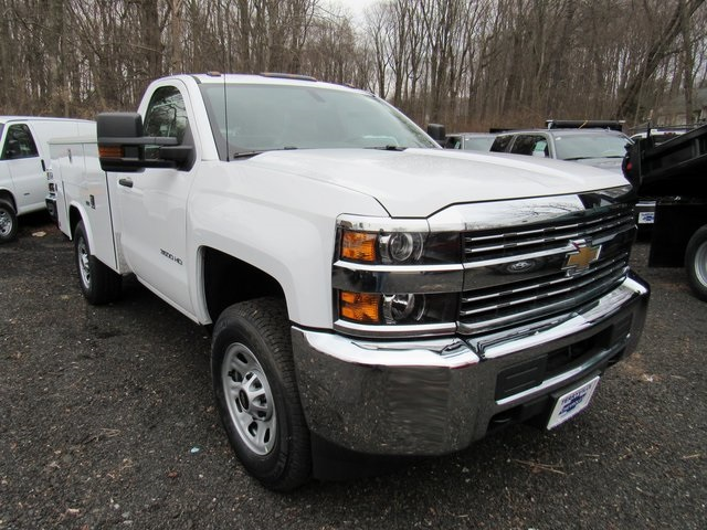 2018 Silverado 3500 Regular Cab 4x4,  Reading Classic II Steel Service Body #27606 - photo 3
