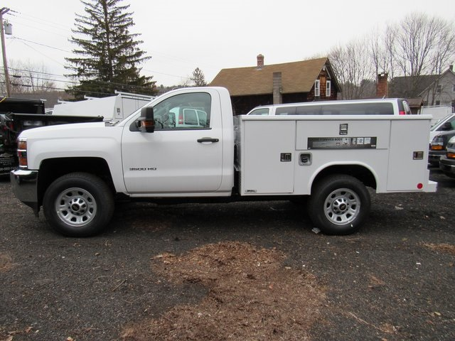 2018 Silverado 3500 Regular Cab 4x4,  Reading Classic II Steel Service Body #27606 - photo 5