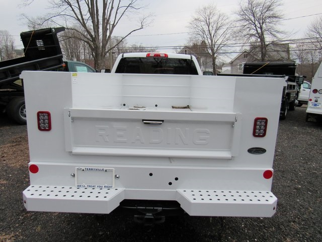 2018 Silverado 3500 Regular Cab 4x4,  Reading Classic II Steel Service Body #27606 - photo 6