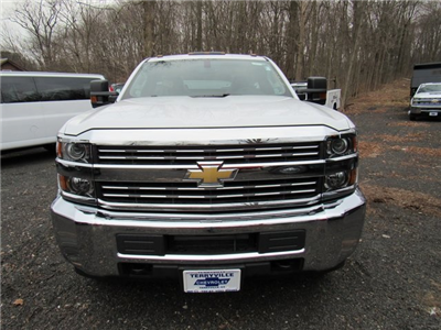 2018 Silverado 3500 Regular Cab 4x4,  Reading Classic II Steel Service Body #27606 - photo 4