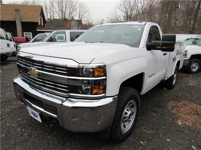 2018 Silverado 3500 Regular Cab 4x4,  Reading Classic II Steel Service Body #27606 - photo 1