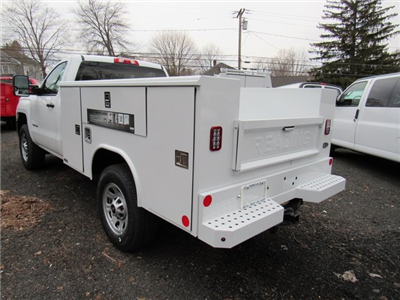 2018 Silverado 3500 Regular Cab 4x4,  Reading Classic II Steel Service Body #27606 - photo 2