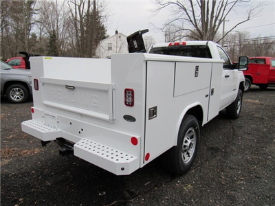 2018 Silverado 3500 Regular Cab 4x4,  Reading Classic II Steel Service Body #27606 - photo 7