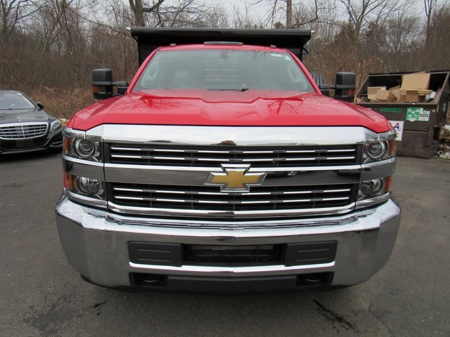 2018 Silverado 3500 Regular Cab DRW 4x4, Dump Body #27686 - photo 4