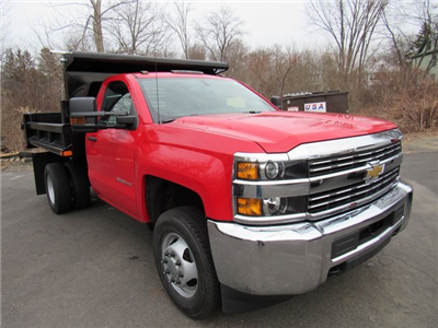 2018 Silverado 3500 Regular Cab DRW 4x4, Dump Body #27686 - photo 3