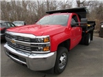 2018 Silverado 3500 Regular Cab DRW 4x4, Dump Body #27686 - photo 1