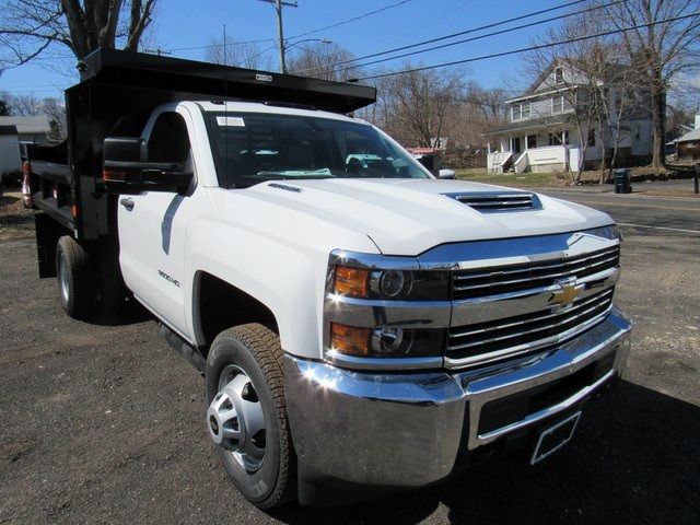 2018 Silverado 3500 Regular Cab DRW 4x4,  Reading Dump Body #27853 - photo 3