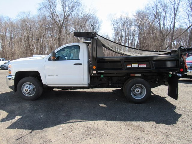 2018 Silverado 3500 Regular Cab DRW 4x4,  Reading Dump Body #27853 - photo 2