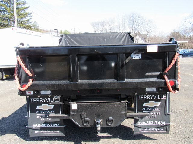 2018 Silverado 3500 Regular Cab DRW 4x4,  Reading Dump Body #27853 - photo 6