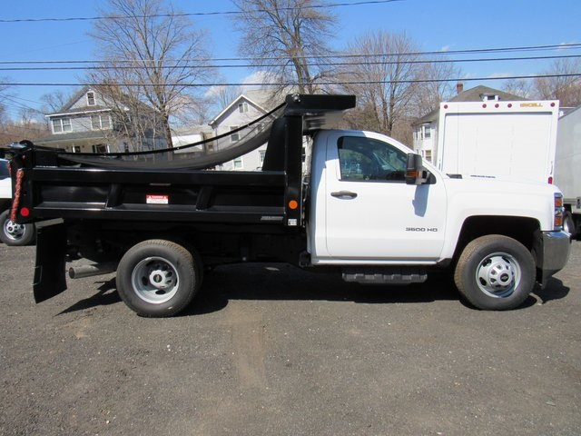 2018 Silverado 3500 Regular Cab DRW 4x4,  Reading Dump Body #27853 - photo 8