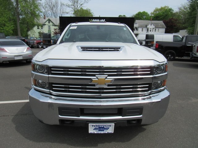 2018 Silverado 3500 Regular Cab DRW 4x4,  Reading Stake Bed #27863 - photo 4
