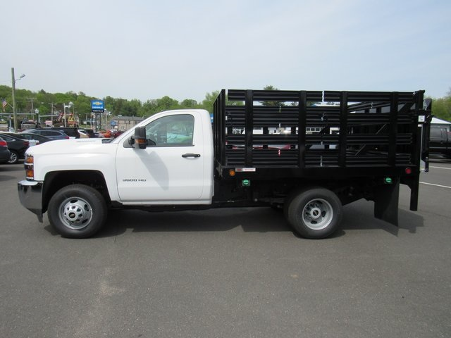 2018 Silverado 3500 Regular Cab DRW 4x4,  Reading Stake Bed #27863 - photo 5