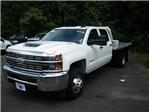 2018 Silverado 3500 Crew Cab DRW 4x4,  Magnum Platform Body #28000 - photo 1