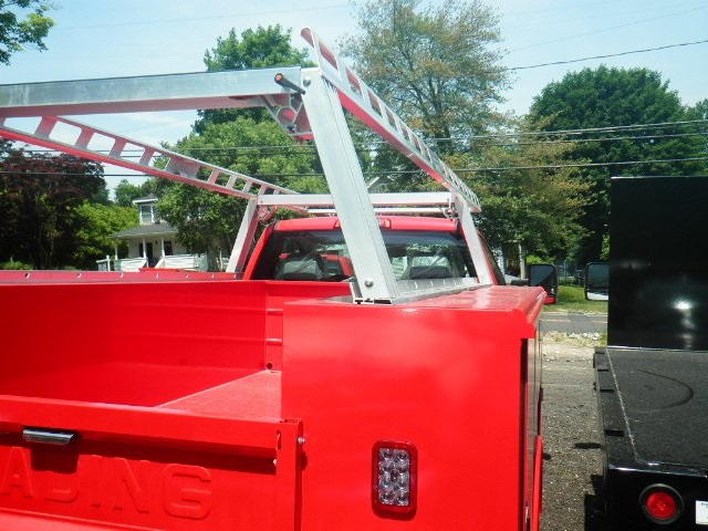 2018 Silverado 3500 Regular Cab DRW 4x4,  Reading Classic II Steel Service Body #28087 - photo 6