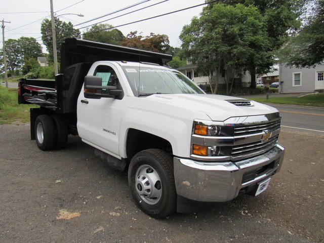 2018 Silverado 3500 Regular Cab DRW 4x4,  Rugby Dump Body #28124 - photo 3