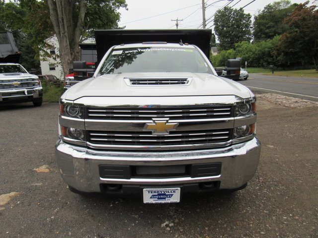2018 Silverado 3500 Regular Cab DRW 4x4,  Rugby Eliminator LP Steel Dump Body #28124 - photo 4