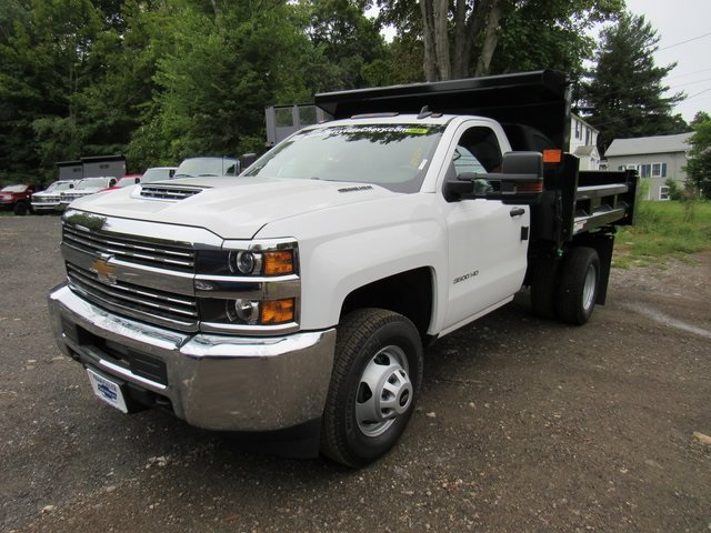 2018 Silverado 3500 Regular Cab DRW 4x4,  Rugby Eliminator LP Steel Dump Body #28124 - photo 1